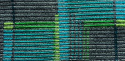 Woven sample from Post Graduate study